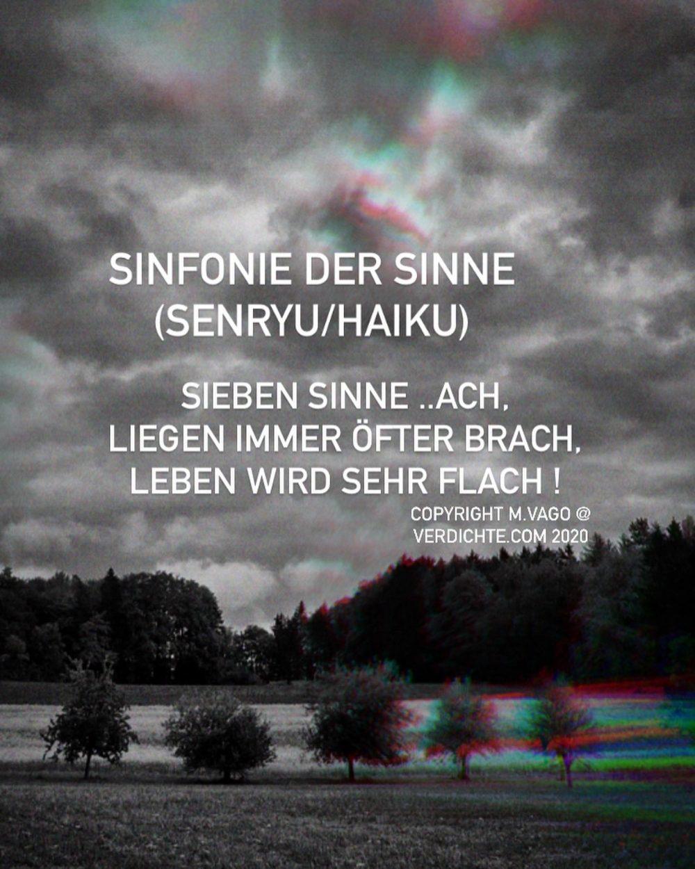 Sinfonie der Sinne (Haiku)