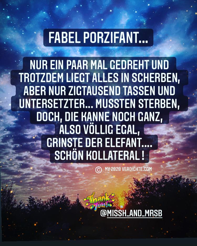 Fabel Porzifant