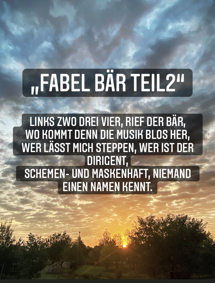 Fabel Bär 2