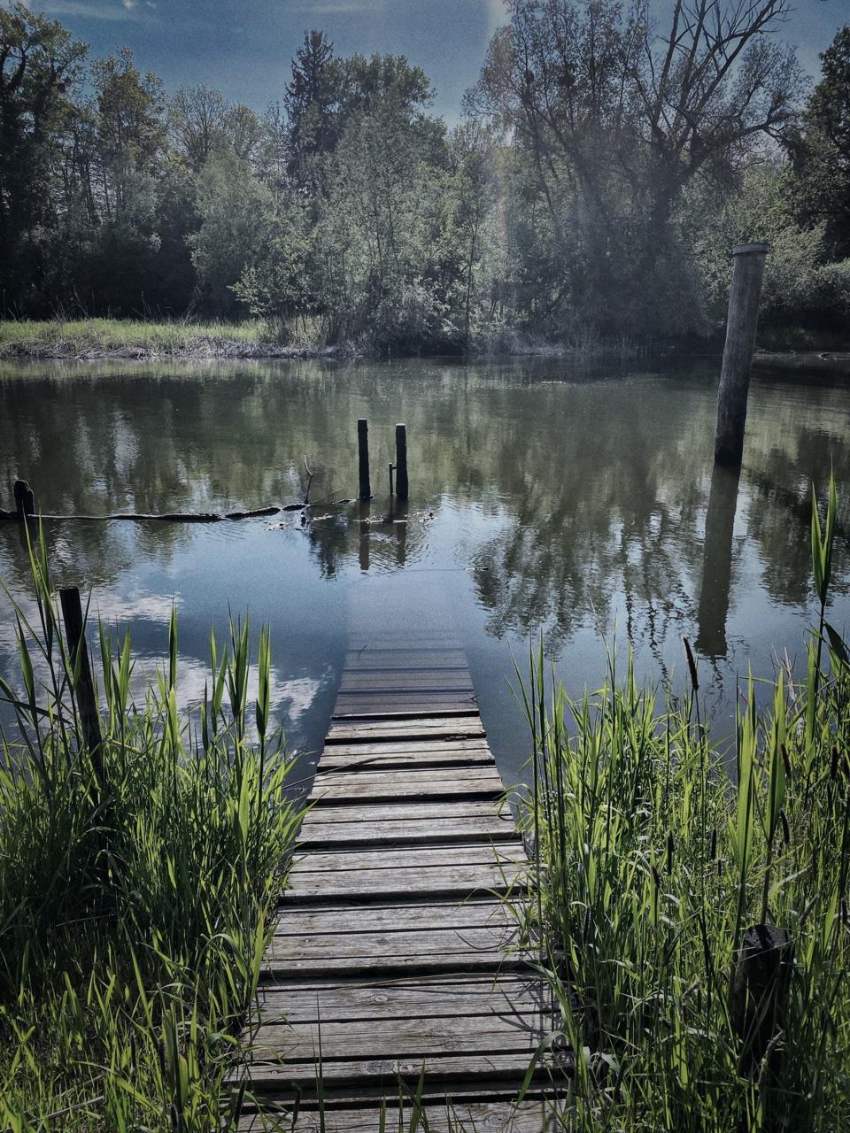 Am Fuß der Seelenbrücke