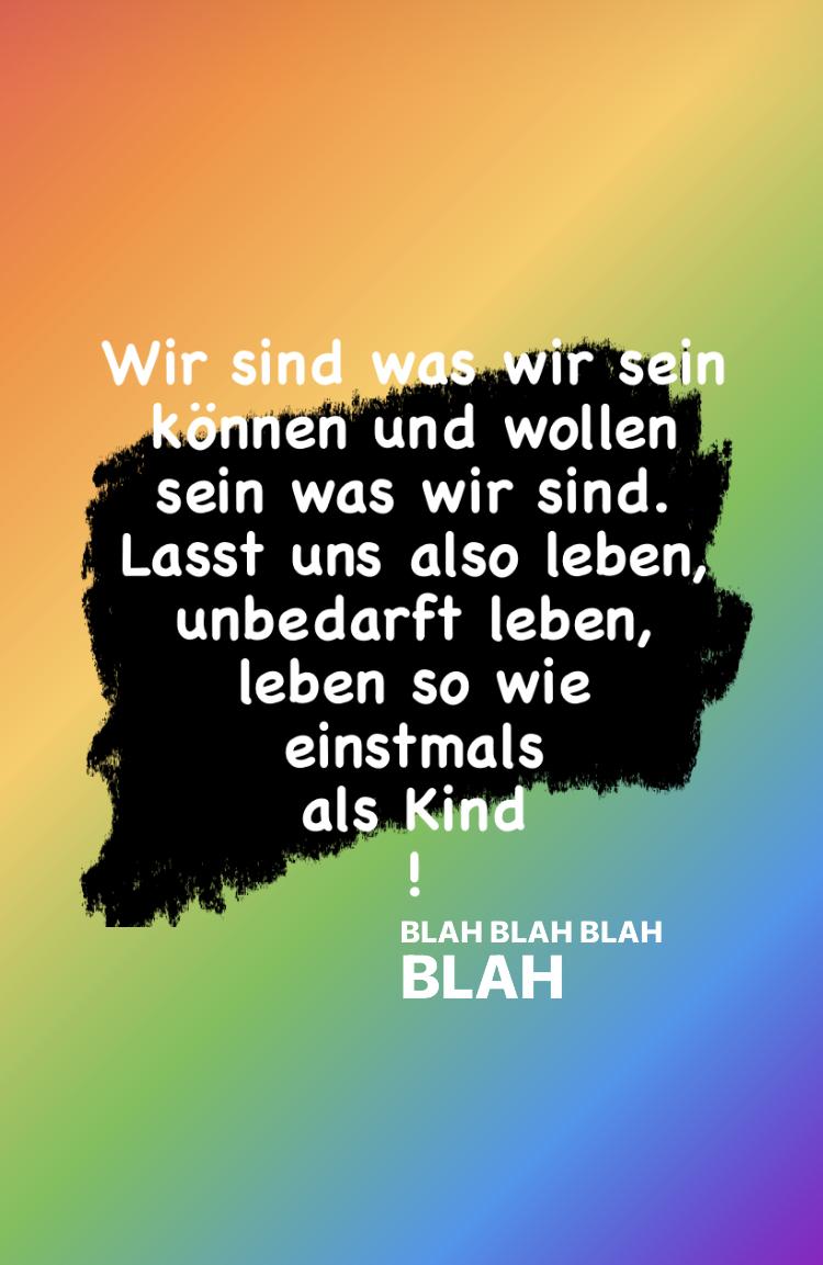 Blah blah blah….