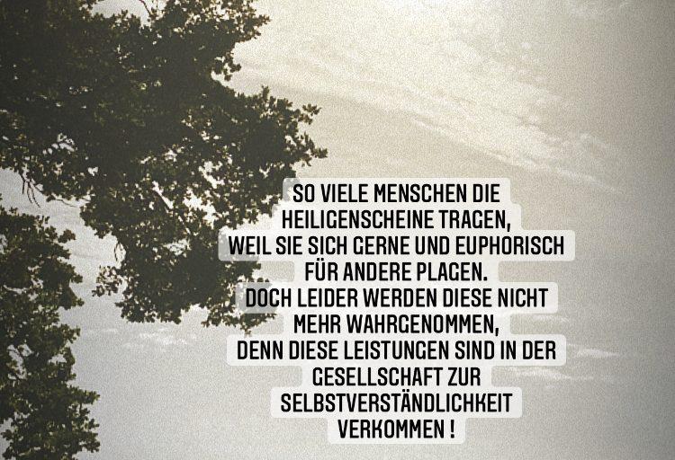 """Lyrikjuli Nachtragsreihe """"Heiligenschein"""""""