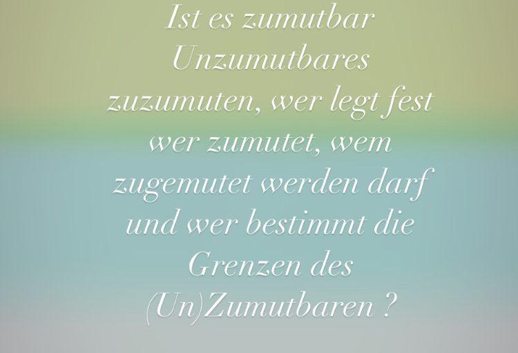 Zu Mut….